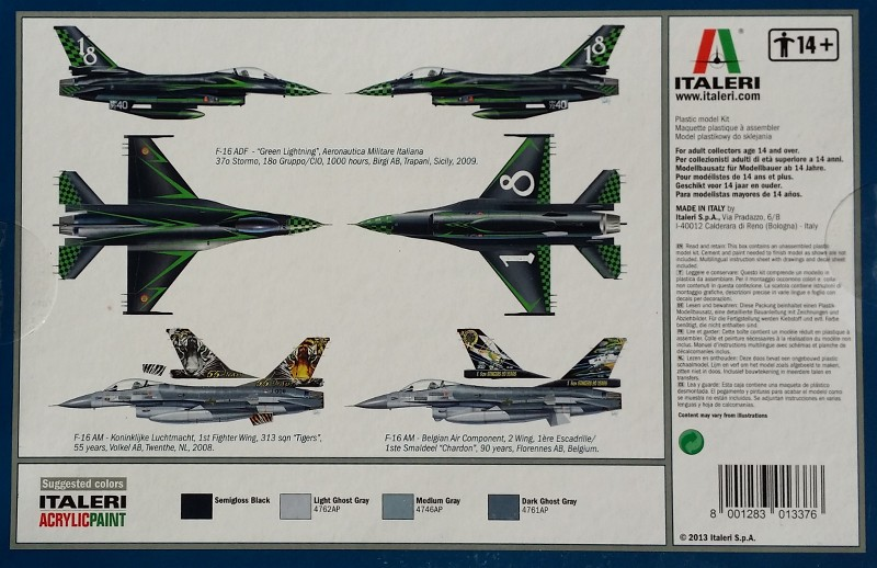 General Dynamics F-16 ADF/AM Green Lightning