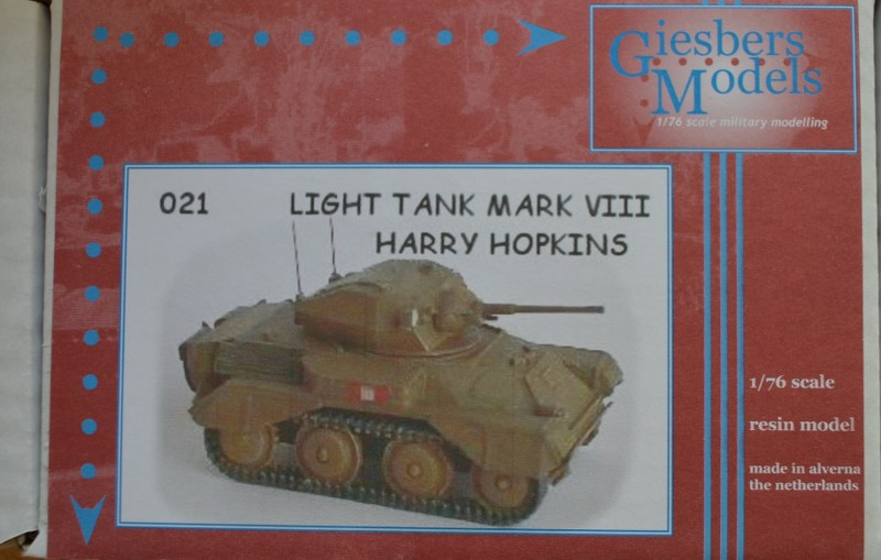 Harry Hopkins Light Tank Mk.VIII