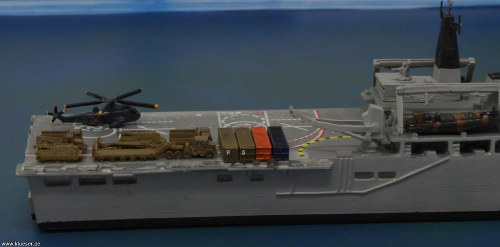 HMS Albion L14 LPD, Sea King HAS 1/700, US Support Set 1/700