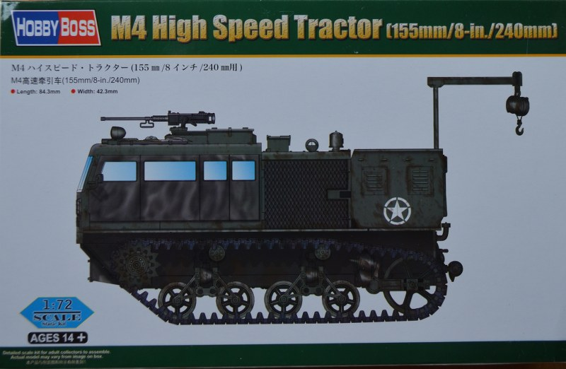 M4 High Speed Tractor (155/8inch/240)