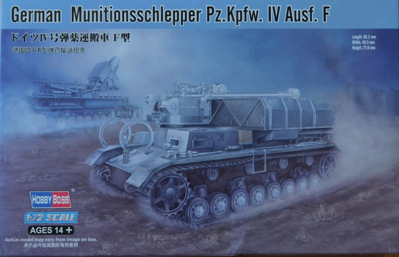 Munitionsschlepper Pz IVF