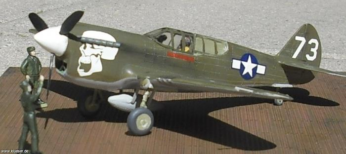 Curtiss P40 Warhawk Skull