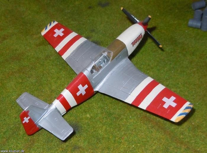 North American P51B Swiss