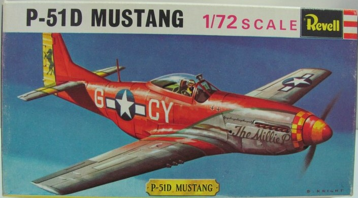 "North American P51D Mustang ""The Milly P"""