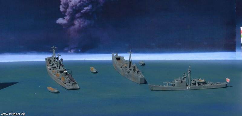 Ch.13  IJN Subchaser, T1 class Fast Attack Transport, T101 class Landungsschiff, Transport Set IJN, Transport Set IJN, Transport Set IJN