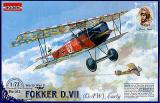 Fokker DVII OAW, early